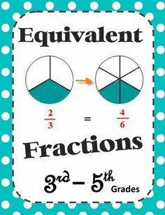 NEW Math DOWNLOAD: Equivalent Fractions (142 pages!) Level: 3rd - 5th Grades Download Club members can download @ http://www.christianhomeschoolhub.com/pt/Fractions-/wiki.htm Not a Download Club member? Find out how to join and start saving @ http://www.christianhomeschoolhub.com/?page=basecmd=signup