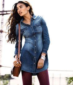 c682a1dc Great dress, still trying to find the perfect denim dress, maybe this one!