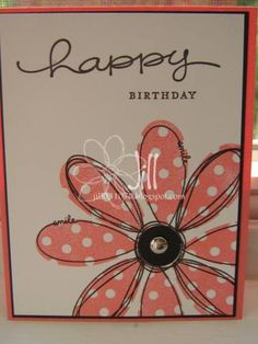 Pick a petal by jill031070 - Cards and Paper Crafts at Splitcoaststampers Julie, check this out!  Want to try next week~