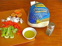 Cooking a frozen turkey on pinterest turkey frozen and juice - Defrost chicken safe way ...