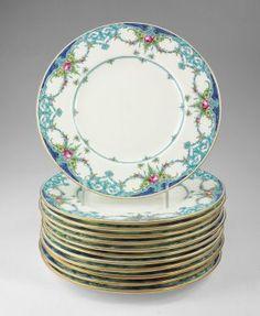 12 Minton Art Nouveau Gilded Plates gold encrusted gilt gold beading   Minton China   Pinterest  sc 1 st  Pinterest & 12 Minton Art Nouveau Gilded Plates: gold encrusted gilt gold ...
