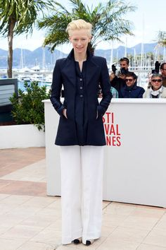 """""""Only Lovers Left Alive"""" Photocall - Tilda Swinton in Chanel"""