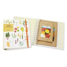 SEED KEEPER | gardening book, binder | UncommonGoods