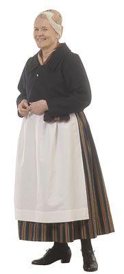 Ylä-Savon naisen puku ◇ The woman's folk dress of Upper Savonia, Finland