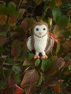 Ravelry: Soren the Barn Owl pattern by Rebekah Fair