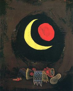 Strong Dream by Paul Klee, 1929