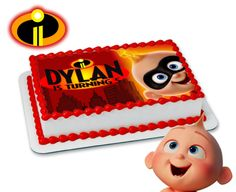 The Incredibles cake topper birthday party Baby Boy Birthday, Boy Birthday Parties, 2nd Birthday, Birthday Ideas, Birthday Cake Bakery, Birthday Cake Toppers, Incredibles Birthday Party, For Your Party, Party Cakes