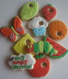 The Very Hungry Caterpillar Birthday Party! Favors so cute