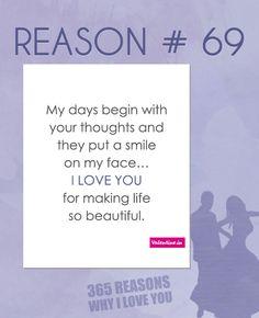Reason why I love you # 69
