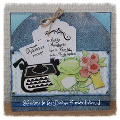 Opkikker recept card / Feel better soon recipe card