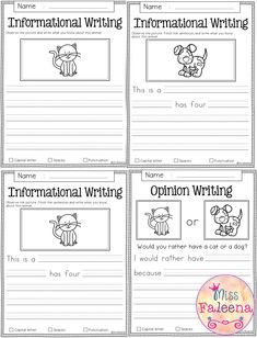 Free Writing Prompts contains 10 free pages of writing prompts worksheets. This … Free Writing Prompts contains 10 free pages of writing prompts worksheets. This product is suitable for kindergarten and first grade students. 1st Grade Writing Prompts, Narrative Writing Prompts, Writing Prompts Funny, Writing Prompts For Kids, Writing A Book, Opinion Writing, Kindergarten Writing Activities, Teaching Writing, Informative Writing Kindergarten