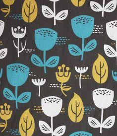 Jessica Jones FABRIC - Home Decor - Outside Oslo - Wildflower - Dusk