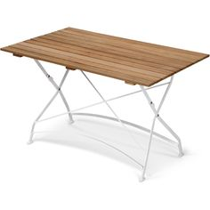 Skagerak Grenen Bord 120 Ihopfällbart Teak/Vit M Outdoor Tables, Outdoor Decor, Picnic Table, Teak, Branding Design, Modern Design, Outdoor Furniture, Traditional, Contemporary