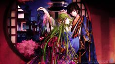 Anime wallpapers code geass one summer evening 1600 x 900