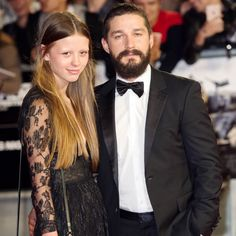 Shia LeBeouf and Mia Goth Are Engaged! | Martha Stewart Weddings - After four years of on-and-off dating, the Transformers actor put a ring on it!
