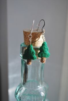 Show your love of nature with these tree needle felted earrings!  https://www.etsy.com/shop/ArtByBarks