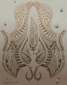 hawaiian tribal drawings tumblr - Google Search Polynesian Designs, Polynesian Tribal, Hawaiian Tribal, Hawaiian Tattoo, Polynesian Tattoos, Tribal Drawings, Tribal Art, Tribal Tattoos, Hawaiianisches Tattoo
