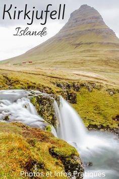 Découvrez le mont Kirkjufell et ses chutes d'eau, icônes de la péninsule de Snaefellsnes en Islande - le lieux a quelque chose de magique ! - Photos et infos pratiques à : http://zigzagvoyages.fr/kirkjufell-islande/