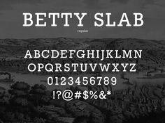 Betty Slab by Greg Shuster