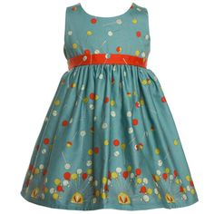 Poppy Blue Lollipop 'Martha' Dress at Childrensalon.com