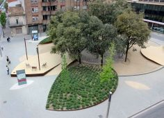 """""""JACINT VERDAGUER"""" SQUARE IN GRANOLLERS, BARCELONA by mipmarí arquitectura i disseny"""
