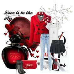 """Love is in the air"" by villadecorinteriors on Polyvore"