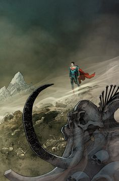 ACTION COMICS #37 Written by GREG PAK Art and cover by AARON KUDER Variant cover by DARWYN COOKE On sale DECEMBER 3 • 32 pg, FC, $3.99 US • RATED T The spread of evil supernatural forces in Smallville continues to get worse – and Superman has no way to stop it. Will this damnation contamination spread to the rest of the world?