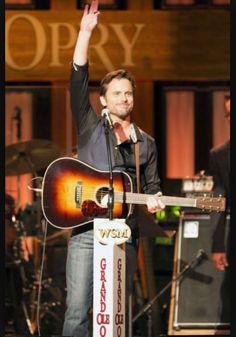 """Charles """"Chip"""" Esten on the most famous stage ever:)))"""