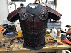 Leather! The Millerscraft Red Dragon Armor build. - MillersCraft