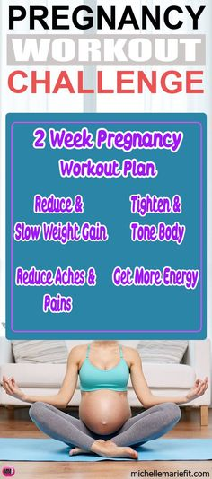 The motivation and guidelines you need to start exercising during pregnancy. 14 Day Jumpstart Pregnancy Workout ChallengeDaily workouts and motivation. Pictures and workout videos included