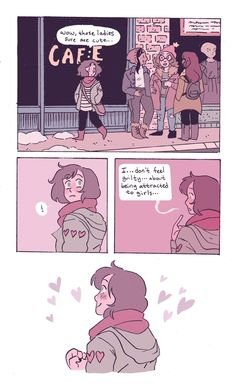 Friendly reminder I have a Ko-fi here Support your local LGBT+ artists and creatives! Lesbian Art, Lesbian Pride, Gay Art, Cassandra Calin, 4 Panel Life, Lgbt Memes, Cute Comics, Gay Comics, Comics Love
