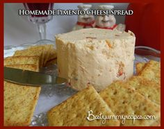 Homemade Pimento Cheese Spread