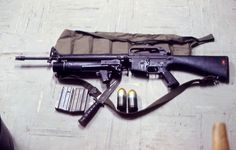 M16A1 fitted with an XM148 40mm grenade launcher. #VietnamWarMemories