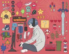 Art And Illustration, Illustrations, Anime Kunst, Anime Art, Character Inspiration, Character Art, Modelos 3d, Boy Art, Aesthetic Art
