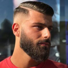 Trendy Simple Blonde Haircuts for Men Mens Haircuts Straight Hair, Mens Hairstyles With Beard, Blonde Haircuts, Haircuts For Men, Great Beards, Awesome Beards, Beard Styles For Men, Hair And Beard Styles, Short Beard Styles