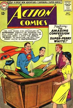 Which should I be more worried about, the Perry White thing or the Adventures of Supergirl and .Superhorse?