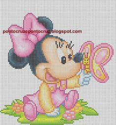 Ponto Cruz da Drayzinha: Graficos disney baby