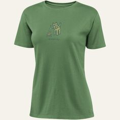 Camp Dog Simplify | Women's Camping Crusher Tee | Life is good