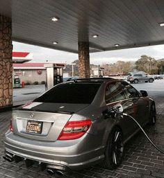 Thirsty C63 AMG