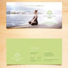 Yoga Flyer by SCIANA