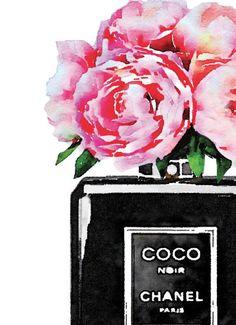 Set 3 moda carteles flores rosa bolso zapatos moda libro pila