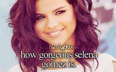 how gorgeous selena gomez is