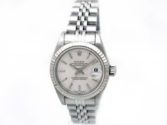 Stainless Steel. Silver Dial. #69174