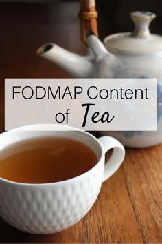 Did you know that not all teas are low FODMAP?! I wrote this post to clear up the confusion around the FODMAP content of tea (plus it includes a delicious recipe for fresh ginger and maple tea)