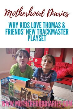 Why kids love Thomas and Friends' new Trackmaster Playset