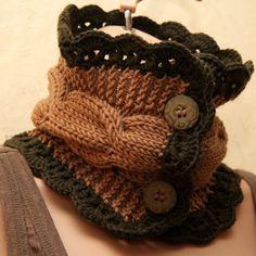 Knit neck warmer..........