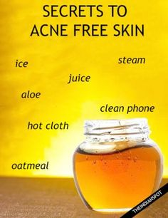 SECRETS TO A CLEAR, SMOOTH AND ACNE FREE SKIN