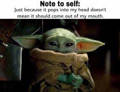 Yoda Meme, Yoda Funny, Tin Can Man, Pharmacy Humor, Student Memes, Corny Jokes, Funny Jokes For Adults, Star Wars Pictures, Star Wars Baby