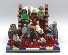 My entry for the Double-Down Challenge on Bricks of the Dead Challenge A: Zombie Kill of the Week [bricksofthedead.com/extras/double-challenge] Roughly based on the Lawnmower Scene from The Peter Jackson Movie Braindead AKA Dead Alive [en.wikipedia.org/wiki/Braindead_%28film%29] Quoted as being The Goriest and most bloodiest scene filmed, over 300 galloons of fake blood was used I won't post a link but you know were to find it Watch It Enjoy It And Laugh Out Loud !!...