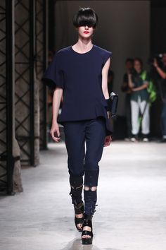 UNDERCOVER 2014SS | navy + black